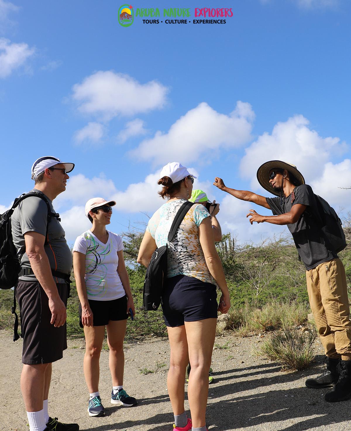 Hiking tour aruba nature explorers